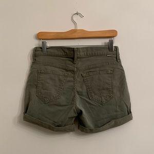Mother Brand | Khaki Shorts